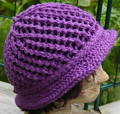 Easy_breezy_hat_purple_cabled_cotton_held_triple_short_brim_side_view_small