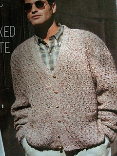 1cc679aef Ravelry   01 Men s Classic Cardigan pattern by Vogue Knitting
