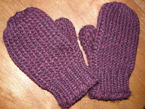 Ravelry Super Easy Mittens Pattern By Bethany A Dailey
