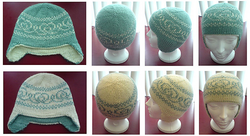 Ravelry Double Knit Earflap Hat Pattern By V Vine