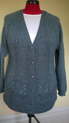 Knitting Pattern Waterfall Cardigan Free : Ravelry: Waterfall Cardigan pattern by Cheryl Chow