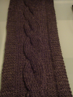 Simple Cabled Scarf Pattern By Jammy S Modern Designs Ravelry
