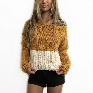Ravelry Sonoma Colorblock Sweater Pattern By Gorillaknits