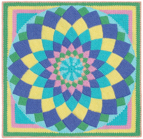 Ravelry Gourmet Crochet Entrelac Giant Dahlia Afghan Patterns