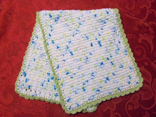 Ravelry Crochet Burp Cloth Pattern By Grace Fearon