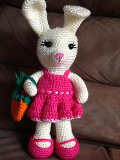 Ravelry Dress Me Bunny Pattern By Sharon Ojala