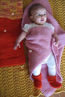 94f7d6a92 Ravelry    281 Bulky Baby Blankets and Booties pattern by Diane Soucy