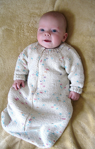 103 Baby Sleeping Bag By Diane Soucy Granknitter