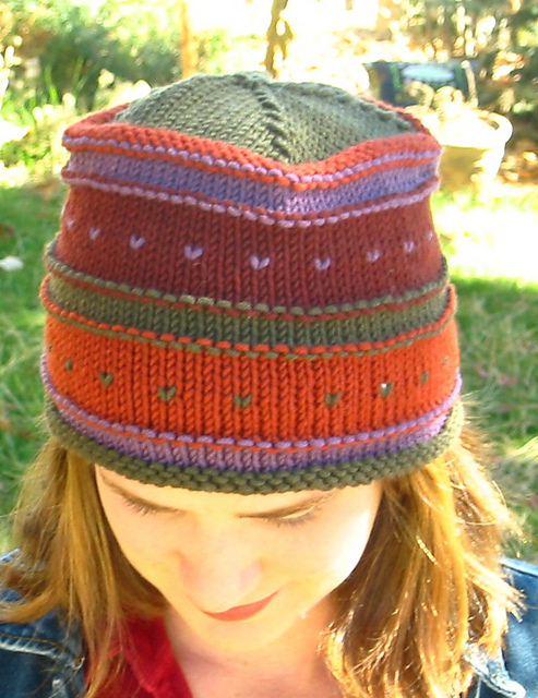 Ravelry: Simple Fair Isle Hat pattern by Diane Soucy