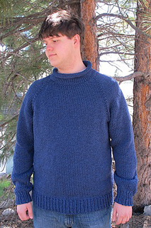 7bc0e2c856 patterns   Knitting Pure   Simple.    1110 Bulky Top Down Pullover ...