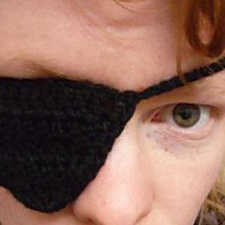 ravelry crochet like a pirate crocheted pirate eye patch pattern