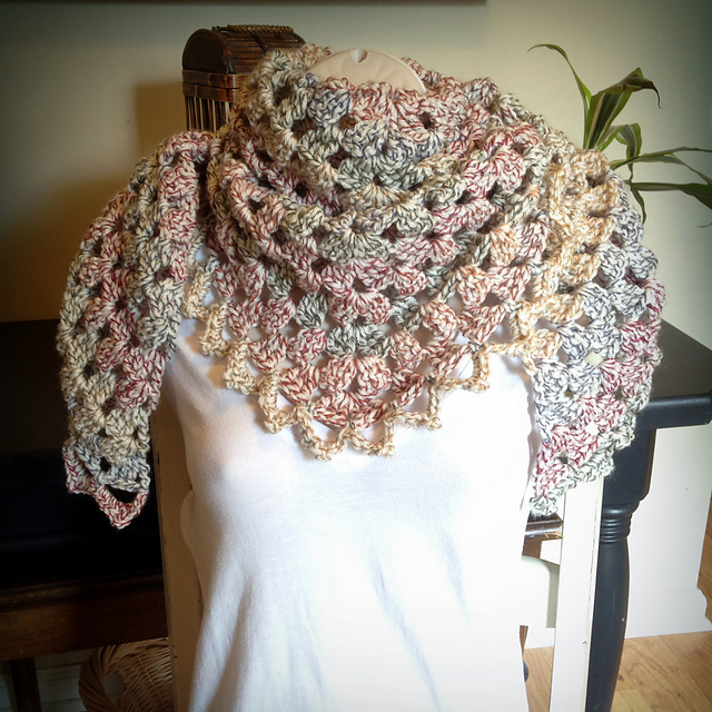 Ravelry: Trinity Prayer Shawl pattern by Orange September