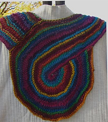 1 Skein Reversible Ascot Or Scarf