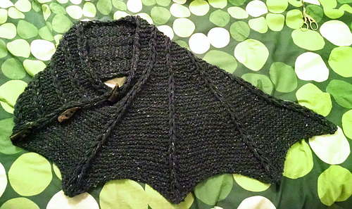Ravelry Grenacias Dragon Wing Cowl With Short Rows