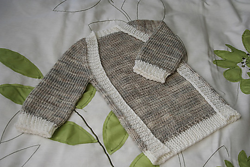 Baby vertebrae knitting pattern