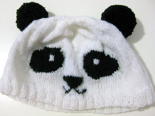 Ravelry  Knitted Panda Hat pattern by Heng Qiwen (aka Gwen from ... 6af30f8ae21