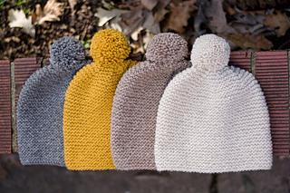 Ravelry  Garter Stitch Hat pattern by Haley Scarpino 9be9a380316