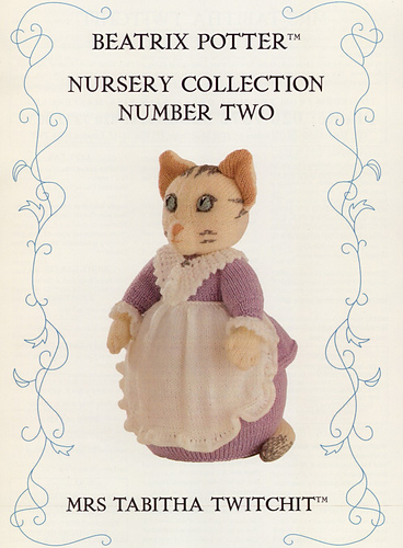 Beatrix Potter Nursery Collection Number Two Mrs Tabitha Twitchit
