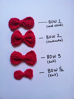 3 1 2 Ways To Knit A Bow