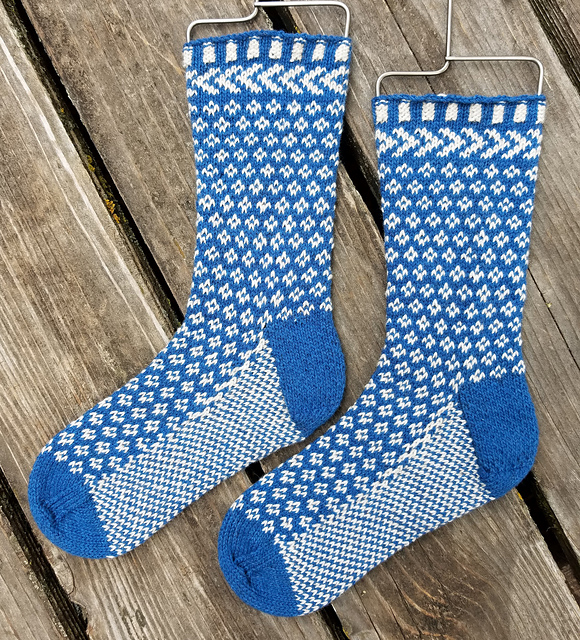 Dressen Socks by Judy M. Ellis, Handiwords Ltd LLC