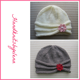 159c336269d Ravelry  Rolled Brim Hat pattern by Yelena Chen