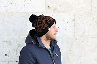 3e3e1ce653f1 Ravelry: Adult Leopard Print Beanie Hat pattern by Louise Bollanos