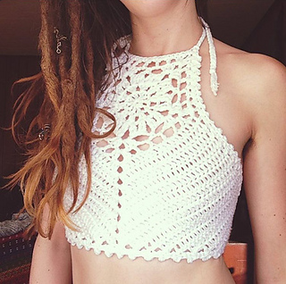 Ravelry Zinnia Crop Top Pattern By Hannah Martin