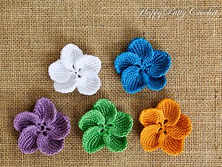 Ravelry plumeria flower pattern by happy patty crochet ccuart Gallery