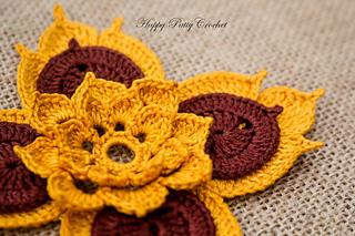 Ravelry Prajamyam Lotus Flower Pattern By Happy Patty Crochet