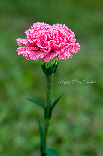 Ravelry: Carnation Flower pattern by Happy Patty Crochet