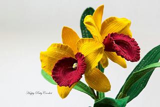 Ravelry orchid cattleya pattern by happy patty crochet happy patty crochet ccuart Gallery
