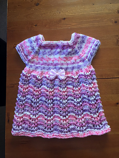 db199d381 Ravelry  Meadow Sweet Baby Dress pattern by marianna mel
