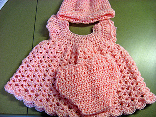 Ravelry Baby Girl Sleeper Set Pattern By Abigail Goss
