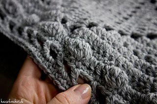 Ravelry Grey Granny Square Decke Pattern By Romina Müller