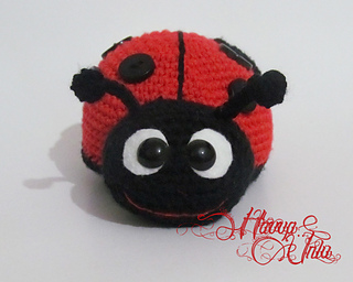 Ravelry: Ladybug (Colourful Crochet, Amigurumi) pattern by ...