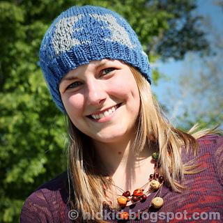 fa2bd7b8d55 Ravelry  Mouse Patterned Hat pattern by Heidi Arjes