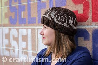5e458ba3313 Ravelry  Snail Patterned Knit Hat pattern by Heidi Arjes