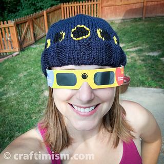 b4cc6b987fa Ravelry  Solar Eclipse Knit Hat pattern by Heidi Arjes