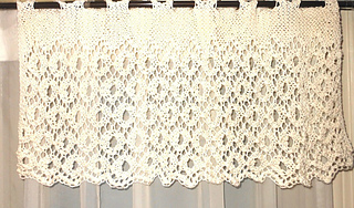 21dc5893df86 Ravelry  ENGLISH LACE Knitted Valance pattern by Karen Walker