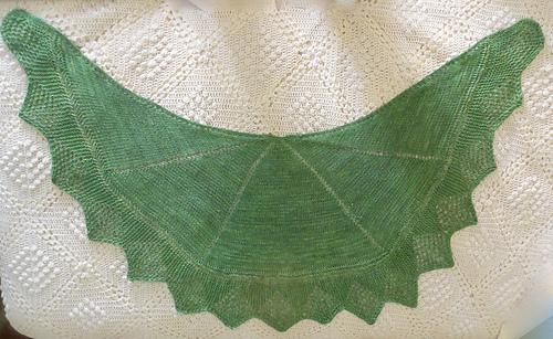 635e6b53176d Ravelry  Little Wing - A Versatile Knitted Wrap pattern by Karen Walker