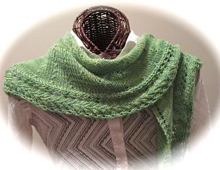 224bd0043c2e Ravelry  LIANA - A Knitted Scarf pattern by Karen Walker