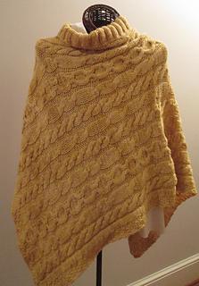 f5cded4459d6 Ravelry  Golden Fleece Poncho pattern by Karen Walker