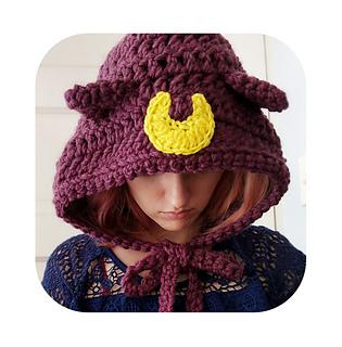 b347c8adb6a Ravelry  Sailor moon cat ears hood pattern by Hello Happy
