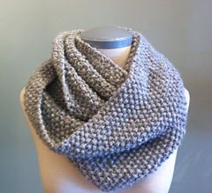 Ravelry: Chalet Seed Stitch Infinity Cowl pattern by nina: a well-knit shop