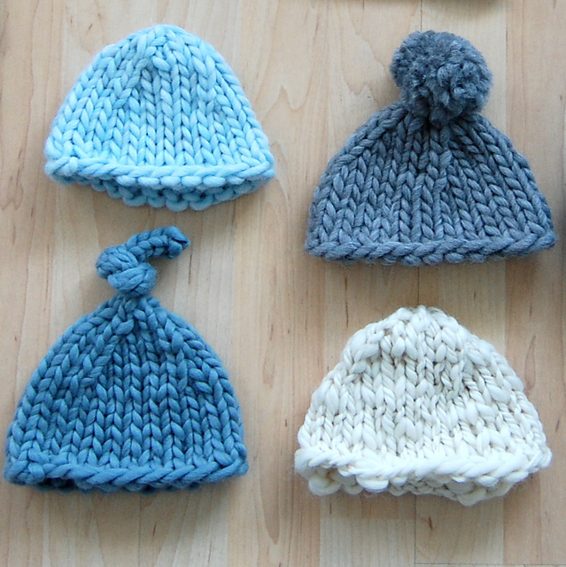 Hot Super Bulky Knit Baby Hat Pattern Image Aa01e 30919