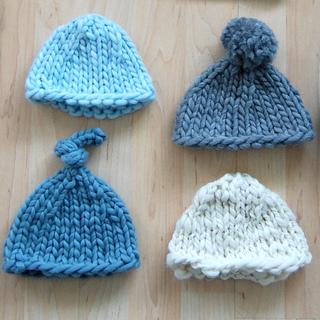Ravelry  Super Bulky Newborn Hat pattern by Jen Geigley 54f799aece5