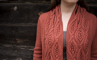 Vala Cardigan pattern by Irina Anikeeva