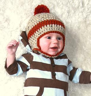 Ravelry  Chinstrap Crochet Beanie pattern by Hilary Frazier ee278782179