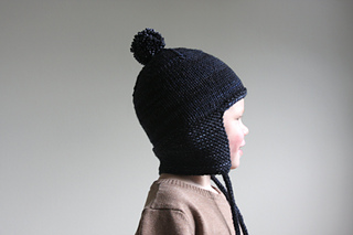 40bdf528e Toddler Helmet with Pompom pattern by Hilary Frazier