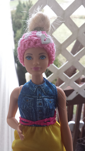 Ravelry Barbie Bun Beanie Pattern By Hillary Thompson